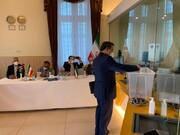 سید عباس عراقچی در اتریش رای داد