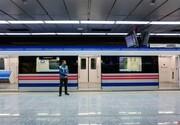 کاهش سرفاصله حرکت قطارها در خط شش مترو