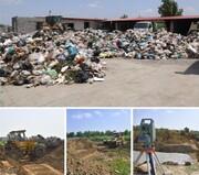 ساخت سکوی زباله جدید در ساری