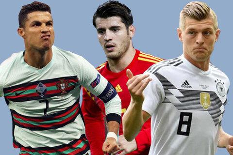 یورو ۲۰۲۰   قهرمانان جهان و یورو به دنبال صدرنشینی   نبرد اسپانیا و لهستان برای فرار از قعرنشینی