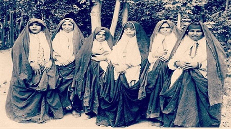 مد و پوشاک زنان قجری