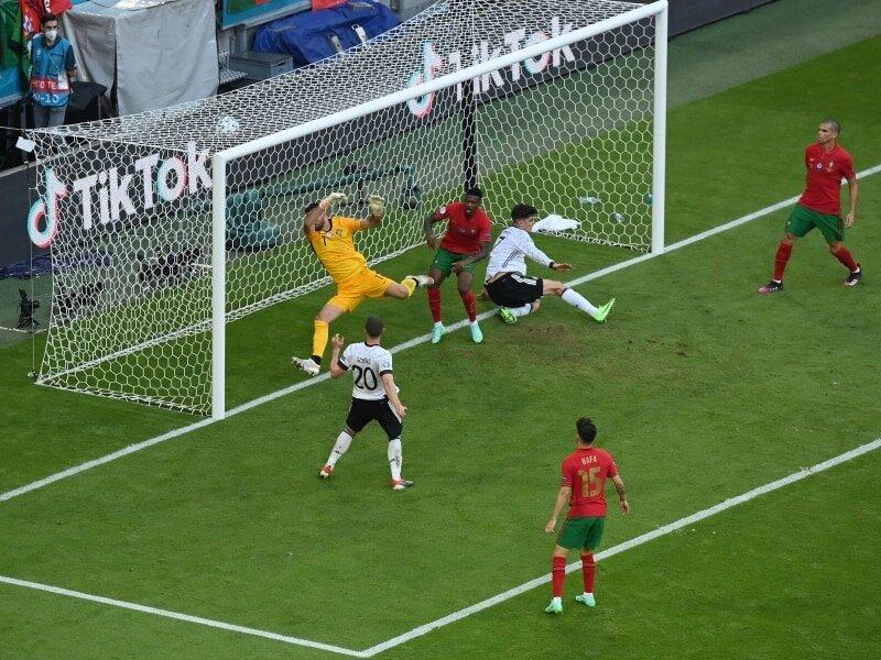 شکست سنگین پرتغال برابر آلمان | رونالدو باز هم به رکورد دایی نزدیک شد!