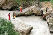 ۵ خانواده از غرق شدن در رودخانه کرج نجات یافتند
