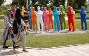 توضیح سازمان زیباسازی درباره تخریب آدمکهای رنگی «آزادی»