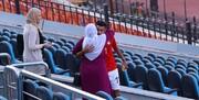 عکس | شادی گل بینظیر بازیکن مصری | بوسهای که جهانی شد