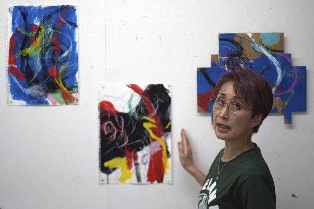 اعتراض هنری به برگزاری المپیک