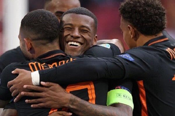 یورو ۲۰۲۰ | صعود قدرتمندانه هلند با شکست مقدونیه | تیم شوچنکو حریف اتریش نشد