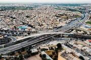 افتتاح فاز نخست پل سردار همدانی بعد از 6 سال