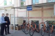دوچرخهها صاحب جای پارک ویژه شدند