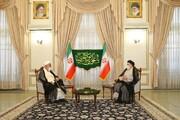 رئیس دفتر مقام معظم رهبری با رئیسی دیدار کرد