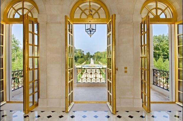 بکارگیری طلا در نماها، ویژگی بارز قصر بن سلمان