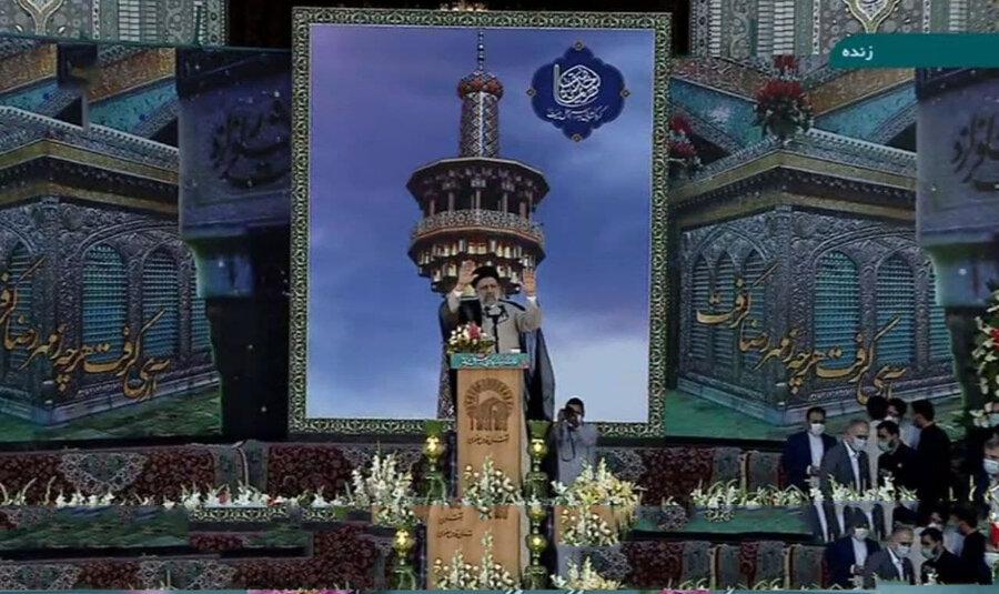 ابراهیم رئیسی در مشهد