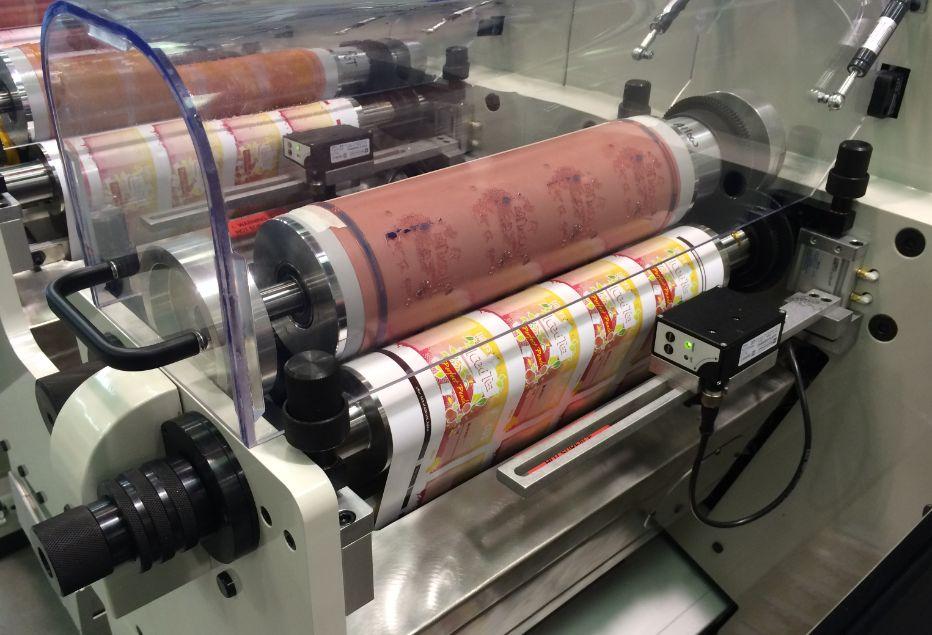 چاپ پلاستیک در کارخانه
