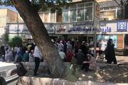 عکس | سرگردانی شهروندان تهرانی در صف دریافت واکسن کرونا