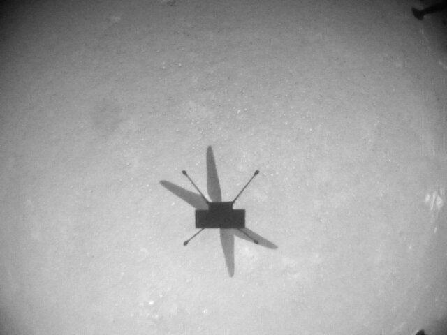 بالگرد «نبوغ» هشتمین پروازش را در مریخ انجام داد