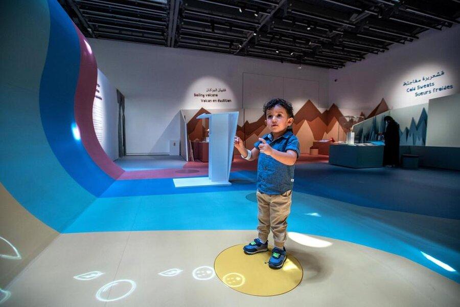 تجربه فیلم دیدن روی کایاک در موزه لوور ابوظبی