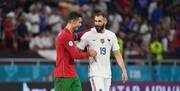 صعود فرانسه و پرتغال در شب تاریخ سازی رونالدو و رسیدن به رکورد دایی