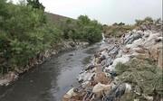 جریان فاضلاب در رودخانههای همدان