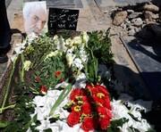 خاکسپاری میرصلاح حسینی در جوار نعمتالله گرجی