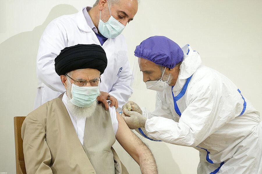 واکسیناسیون رهبری