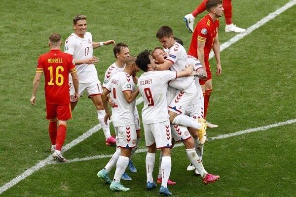 صعود دانمارک به یک چهارم با گلباران ولز | خداحافظی تلخ بیل و رفقا با یورو ۲۰۲۰