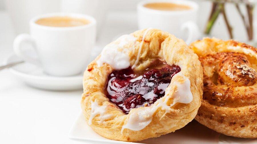 طرز تهیه شیرینی دانمارکی در خانه