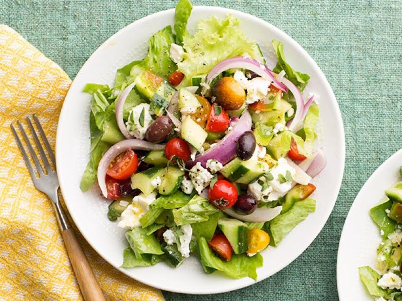 greece salad - سالاد یونانی