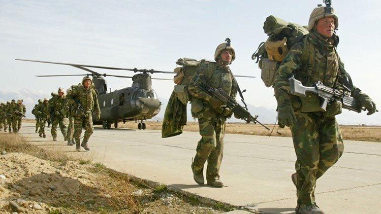 تصاویر | مرور ۲۰ سال حضور نظامیان آمریکا در پایگاه هوایی بگرام - افغانستان