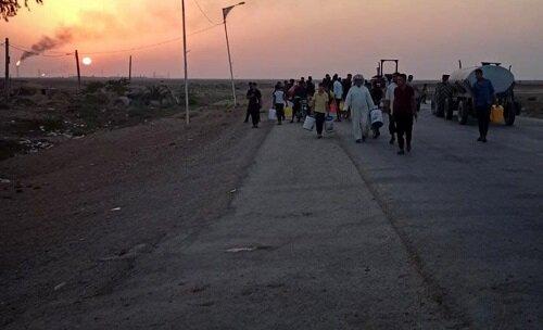 عکس - مردم خوزستان در جستجوی آب
