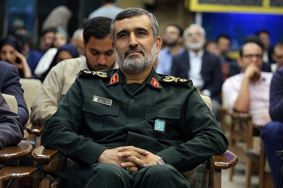 تصویری از سردار حاجی زاده در اتاق جلسه وزارت خارجه اسرائیل
