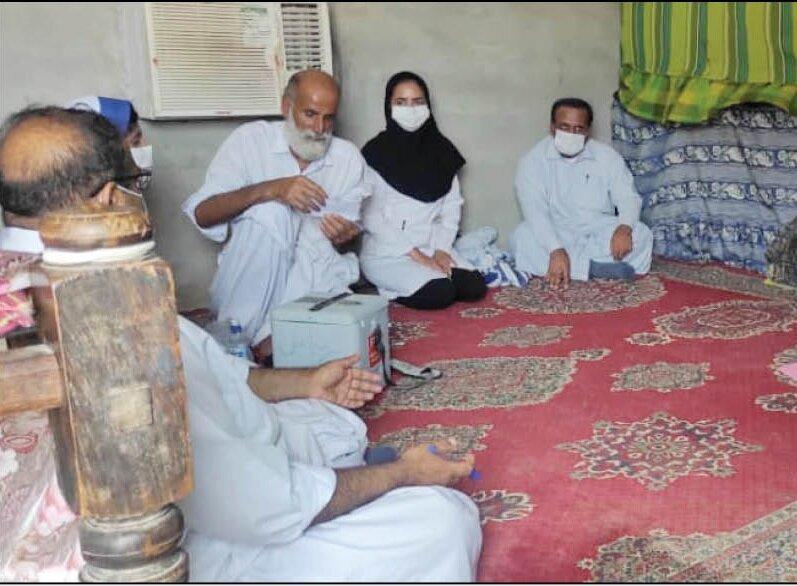 واکسیناسیون روستائیان