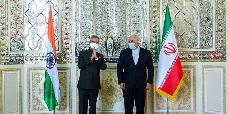 ورود وزیر خارجه هند به تهران   آغاز مذاکرات با ظریف