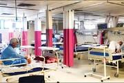 ویدئو | بستری کردن بیماران کرونایی در نمازخانهها و مساجد بیمارستانها