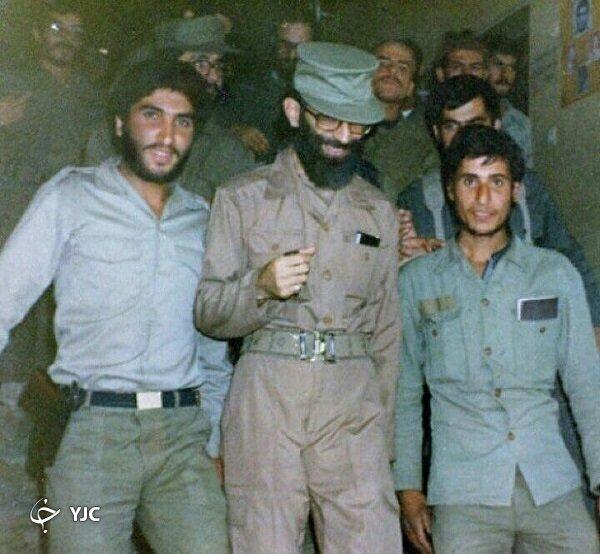 چند تصویر متفاوت از رهبر انقلاب با لباس نظامی