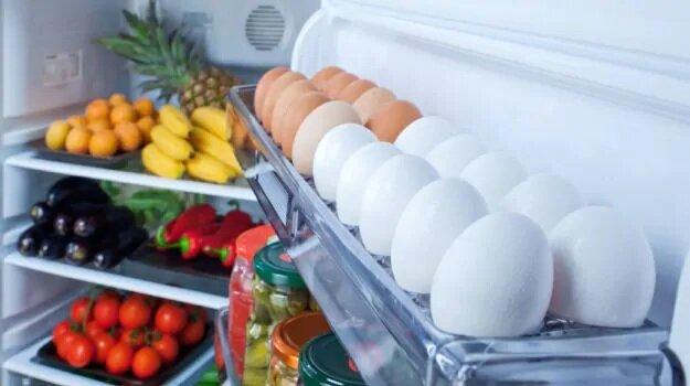 یخچال - تخم مرغ