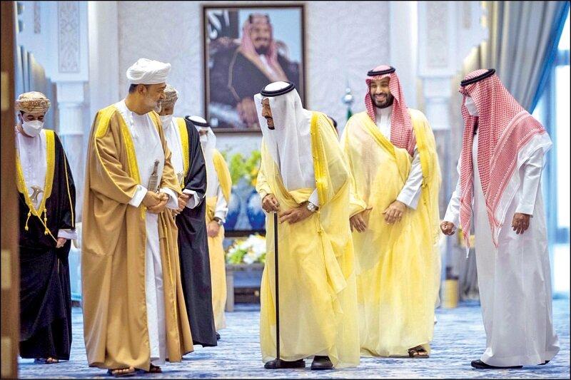 سران عمان و سعودی