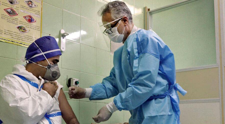 واکسن کرونا ـ کادر درمان