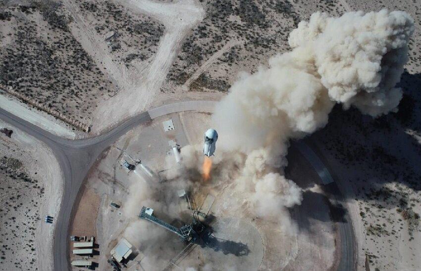 بلو اوریجین با دو رکوردشکنی سهشنبه به فضا میرود