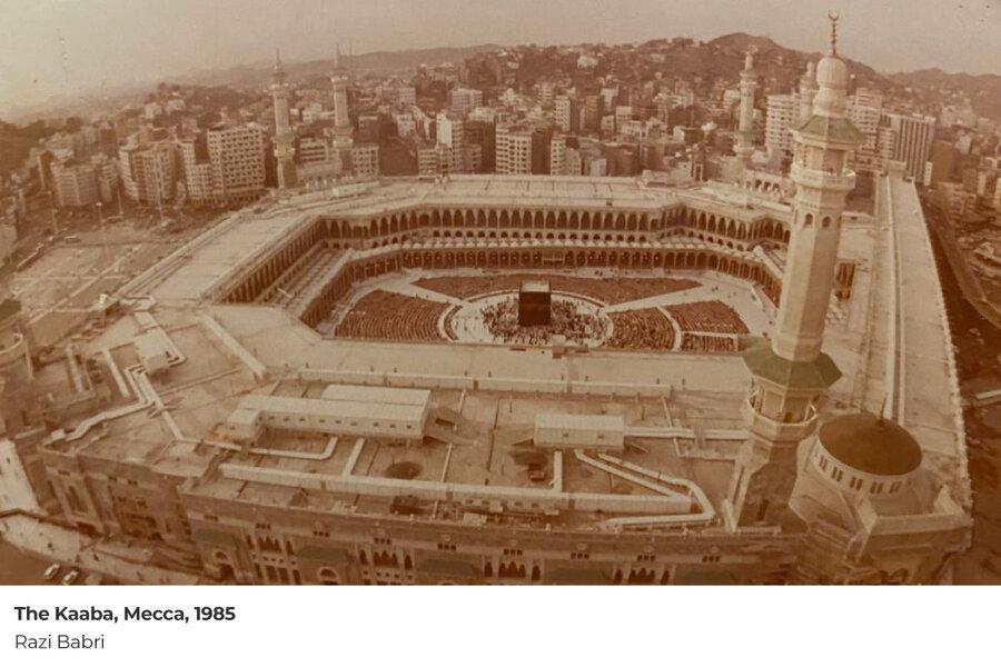 مسجدالحرام در سال 1363