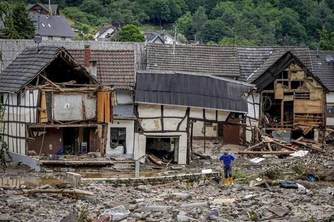 کشتههای سیل اروپا به ۱۲۵ نفر رسید