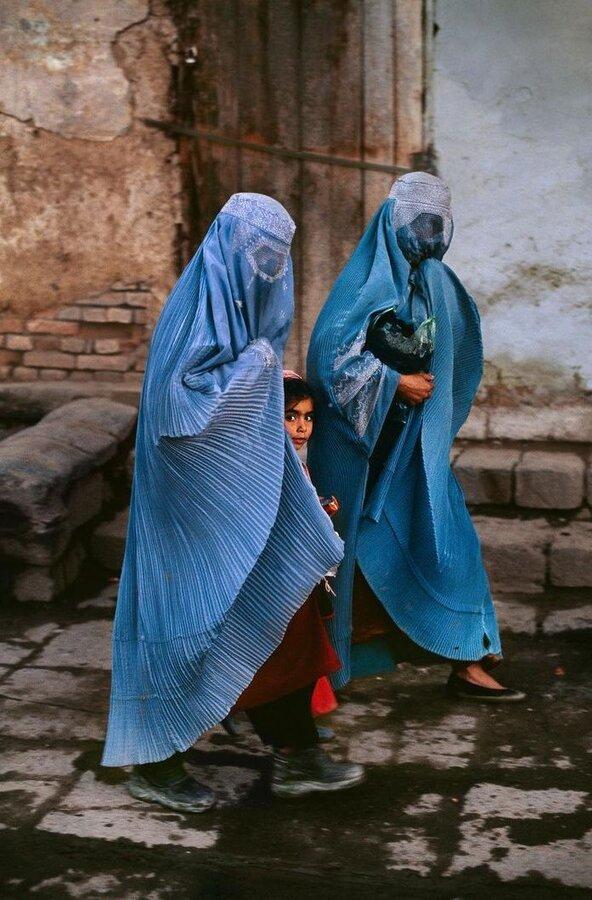 حضور آزادانه زنان افغان در خيابانها امري عادي بود.