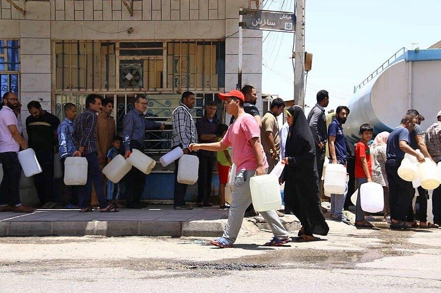 روزهای خوبی برای آبادان و خرمشهر پیشبینی نمیشود | کاهش ۴۳ درصدی ورود آب به مخازن خوزستان