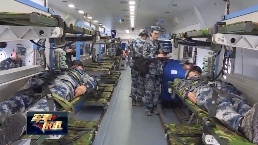 تصاویر | نخستین بیمارستان هوایی چین