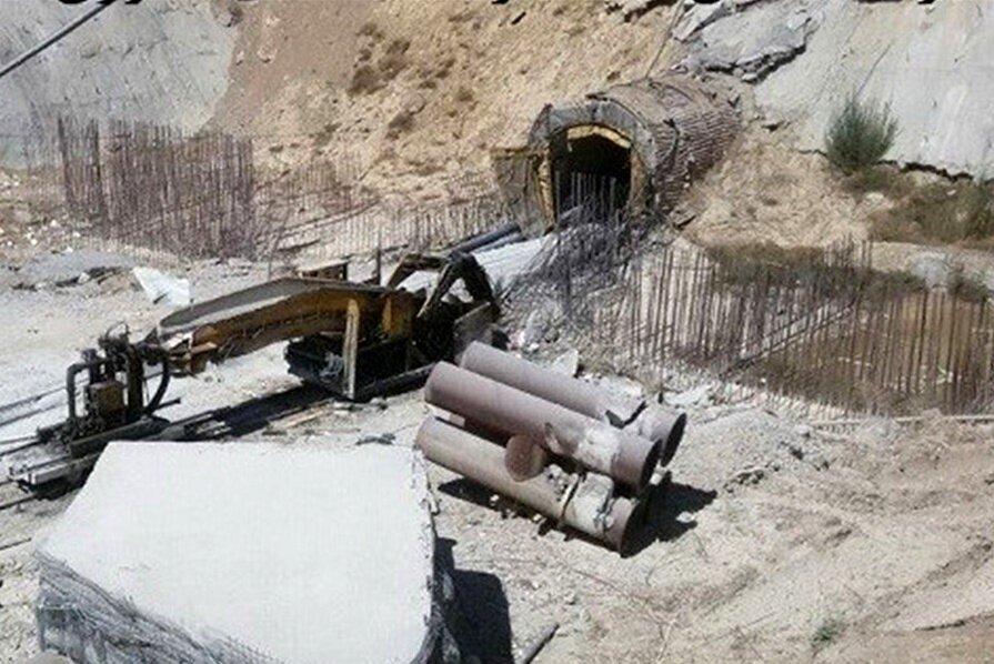 تونل بهشت آباد -  انتقال آب