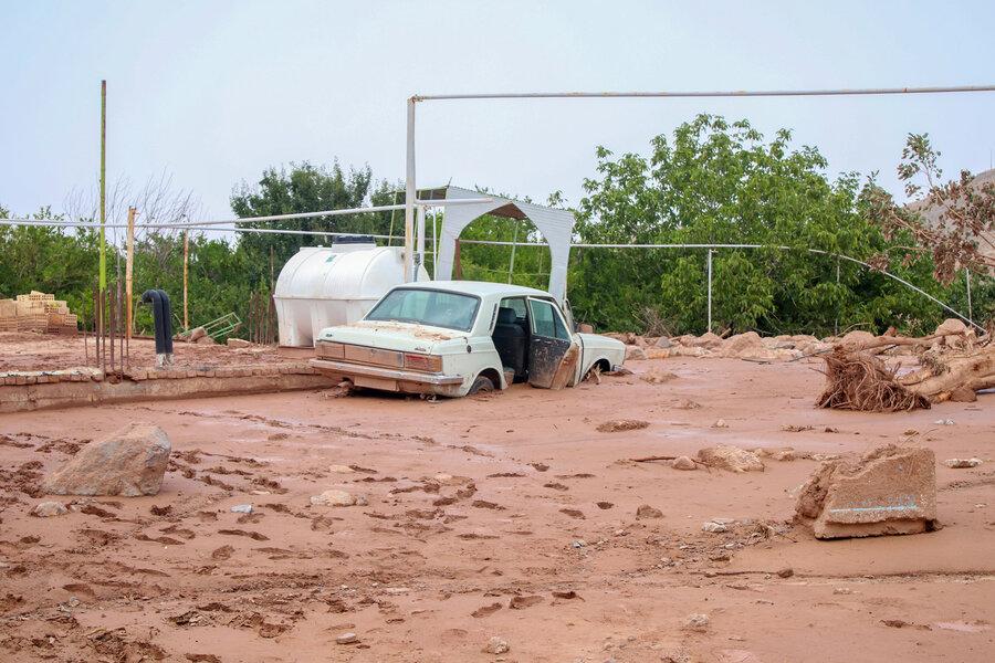 خسارات سیل در استان کرمان