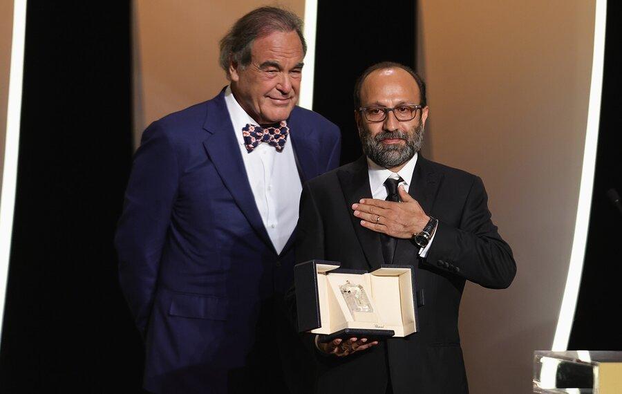 اولیور استون و اصغر فرهادی در جشنواره کن