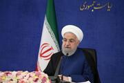 روحانی: هرسال  ۲۵۰۰ مگاوات برق به ظرفیت نیروگاهی کشور اضافه کردهایم | هر هفته یک نقطه از کشور از طرح های آبی برخوردار می شوند
