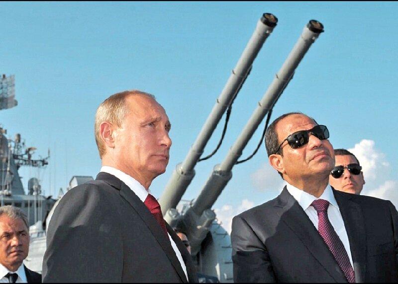 سران مصر و روسیه