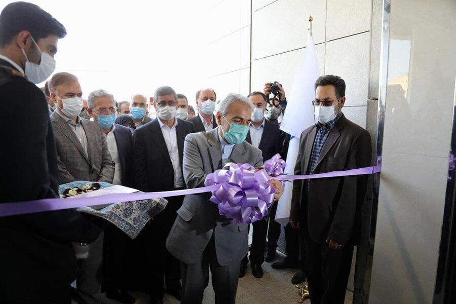 افتتاح مرکز جامع سرطان با حضور نوبخت
