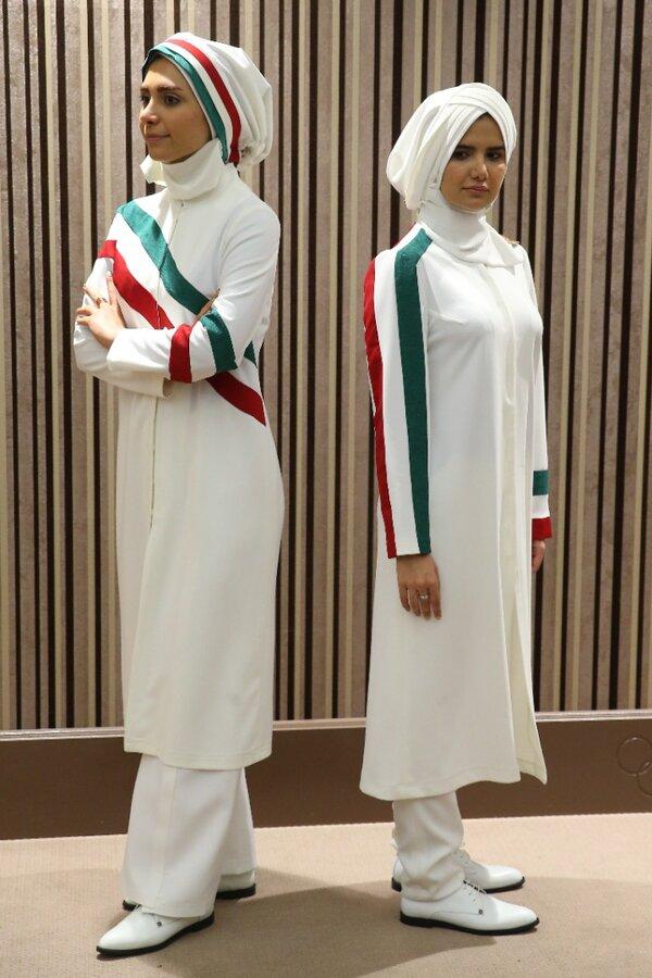 نقش یک نماینده زن در طراحی لباس المپیک | تصاویری از لباسهای دیگر که مورد تایید قرار نگرفت